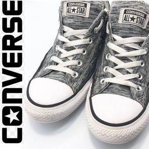 Converse Black Gray Marl Sneakers Women 10